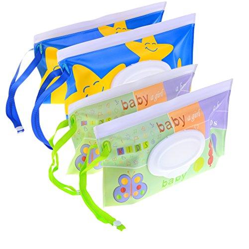 Ntribut Caja Dispensadora De Tejidos H/úmedos Port/átil Al Aire Libre para Beb/és Caja De Toallitas H/úmedas Estuche Conveniente para Toallitas Toallitas Estuche para Viajes Uso para Beb/és