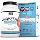 4-in-1 Ultra Joint Care+ Tablets Glucosamine Sulphate + Chondroitin + MSM + Vitamin C | Hight Strength | One A Day | UK Made