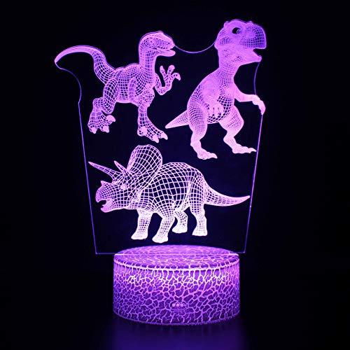 Night LED Lights Novedad lámpara 3D CuteGift 8 Color Abstract Artist Graphics Lámpara de ambiente de dibujos animados para niños Habitación para niños