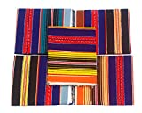 Material: Cotton Colour: Multicolour Any One Color Will Be Product Dimensions (L x W): 72 inch x 45 inch or 6ft x 3.75Ft Package Contents: 1 Dari/Satranji, Actual product photograph. Colors can be slight different from the picture shown due to varied...