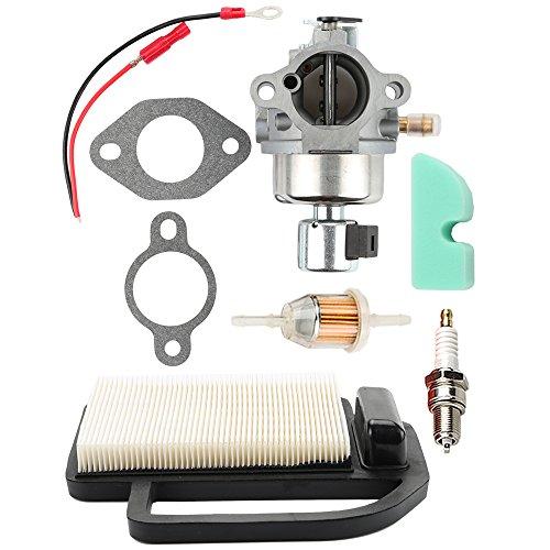 Hilom 20-853-33-S Carburetor + 20 083 02-S Air Filter for Kohler Courage SV Series SV530 SV540 SV590 SV591 SV600 SV601 SV610 SV620 Toro Engine 12 853 117-S