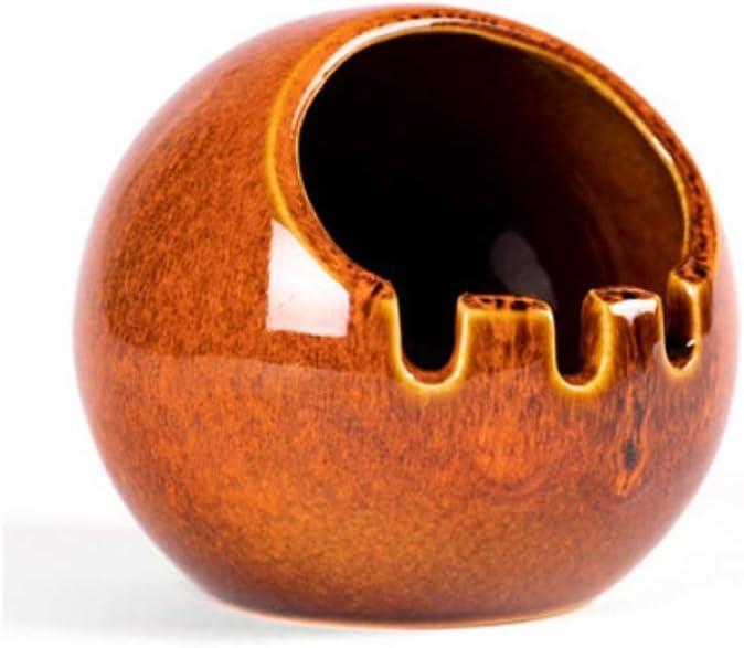 TEAYASON Cigar Ceramic Max 86% OFF Ashtrays for Regular store Ashtray Indoor Outdoor M
