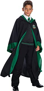 Charades Slytherin Student Children`s Costume, As Shown, X-Large