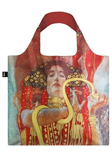 LOQI LOQI Museum Gustav Klimt Hygieia 1900-07 Einkaufstasche Bolso de Viaje 50 cm, Hygieia