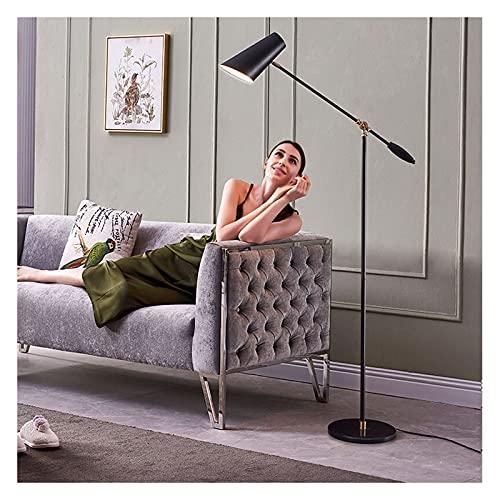 Indoor Vloerlamp led zwart metalen verstelbare rocker woonkamer slaapkamer staande lamp, studie kantoor en studie high…