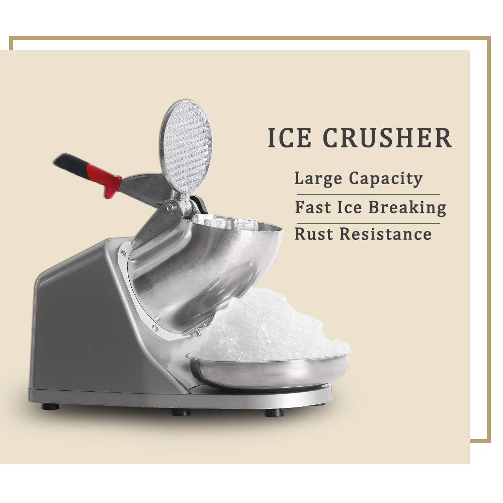 Picadora de hielo CE afeitadora eléctrica Snow Cone Maker rasiert ...