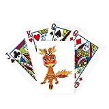 China Francia Torre Eiffel León Poker Jugando Tarjeta mágica Divertida Juego de mesa