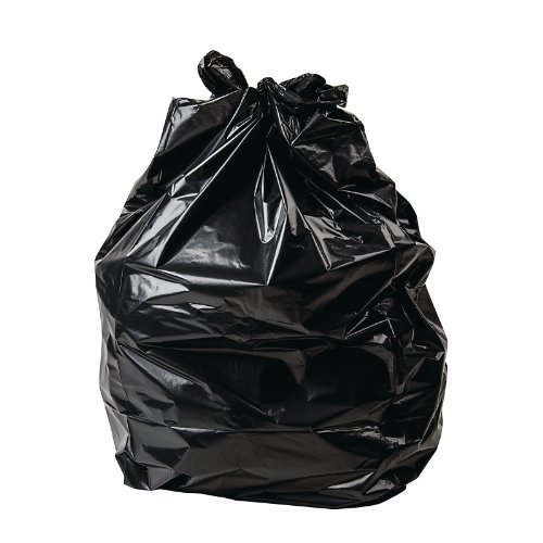 100X Jantex Refuse Rubbish Sacks Waste Compactor Bin Bags Black 508X863X117mm by Jantex