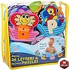 BABY LOOVI Non-Toxic Foam Bath Toys for Boys Girls - Bathtub Alphabet...