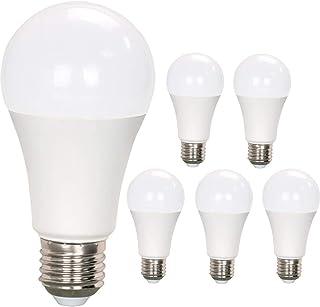 LED電球E26口金 昼光色 100W形相当12W 1200lm 一般電球形 密閉形器具対応 全方向タイプ 6個入