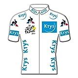 Tour de France 2017 – Pin de camiseta, color blanco