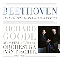 BEETHOVEN: THE COMPLETE PIANO CONCRTOS(3CD) by Goode/Fischer/Budapest Festival Orchestra - Beethoven: Complete Pno Cti (Japan) (2009-07-28)