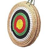 Outdoor-shooter Cible de tir à l'arc Ronde Traditionnelle Solide d'arc tirant l'arc de Couleur Corde Cible de Couche Trois pour la Pratique