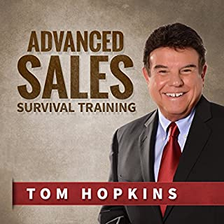 Advanced Sales Survival Training audiobook cover art