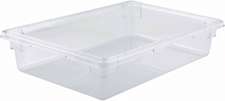 Winco PC Food Storage Box,18X26X6