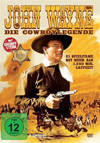 John Wayne - Die Cowboylegende - 21 Spielfilme auf 8DVDs & Sheriff Stern