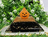 Halloween Glow in The Dark Orgonite Pyramid...