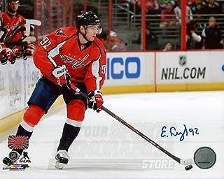 Evgeny Kuznetsov Washington Capitals Signed Autographed Home Action 8x10 PF  H 74efd2575