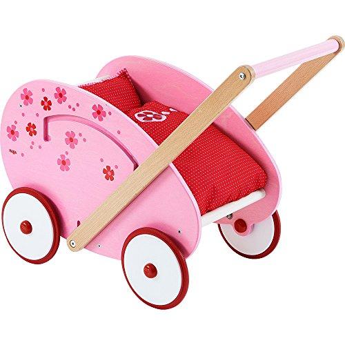 Haba 303389 - Puppenwagen Blumentraum, Spiel