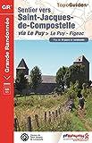 Sentier vers Saint-Jacques-de-Compostelle via Le Puy - Figeac