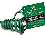 Haleys Corker HALEYPG36 Platinum Screw cap Bulk Green Hang Tag 24 In Display