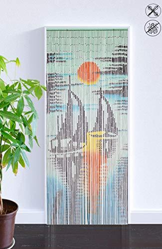 abc HOME living Raumteiler Türvorhang Bild