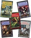 The Chronicles of Prydain 5 Volume Set:The Book of Three, The Black Cauldron, The Castle of Llyr, Taran Wanderer, The High King