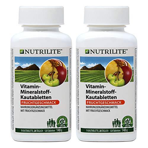 Multivitaminico Masticabile NUTRILITE Pack 2 x 120 tavolette
