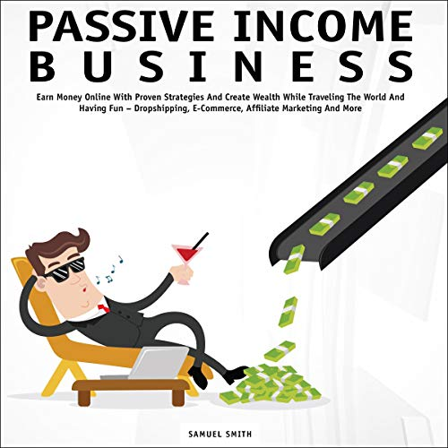 Passive Income Business audiobook cover art