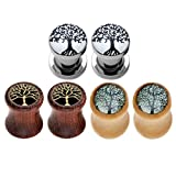 Best Jovivi Ear Piercing Kits - Jovivi 6pcs Tree of Life Stainless Steel Organic Review