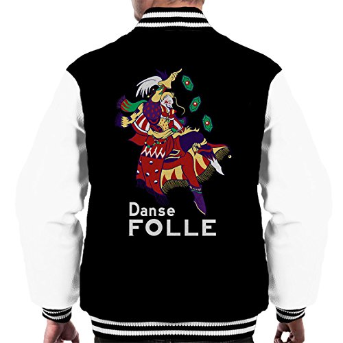 Cloud City 7 Danse Folle Kefka Palazzo Final Fantasy Vi Men's Varsity Jacket