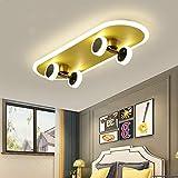 CRJ LED Skateboard Lampe Deckenlampe Dimmbar Deckenleuchte Für...