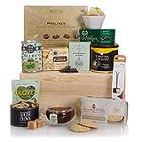 La cesta de comida gourmet - Delicioso surtido de comida - Cestas de regalo y comida