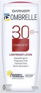 Ombrelle Sunscreen SPF30 w/ MEXORYL 4 oz size Blocks UVA & UVB