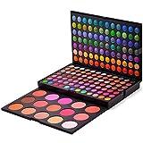 Pure Vie® 183 Colores Sombra De Ojos Corrector Rubor Paleta de Maquillaje Cosmética - Perfecto para Sso Profesional y Diario