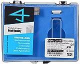 Optiglass UV Quartz Cuvette For Spectrophotometer, Pathlength 10mm, Volume 3.5ml