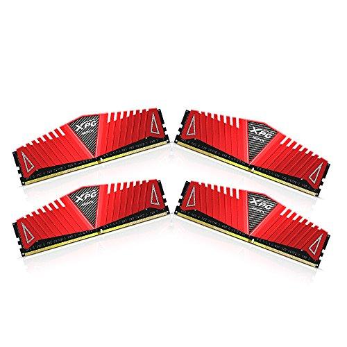 ADATA AX4U300038G16-QRZ Z1 DDR4 3000MHz (PC4-24000) CL16 32GB (8GBx4) Arbeitsspeicher rot