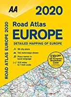 Road Atlas Europe 2020 (AA Road Atlas Europe)