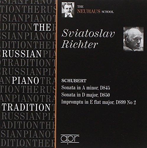 Russian Piano Tradition / The Neuhaus School- Schubert: Piano Sonatas D.845,D.850 (2009-06-09)