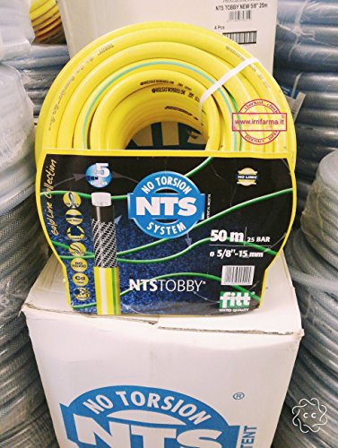 Gartenschlauch NTS – No Torsion System 50 mt. Ø int 15 mm = 5/8 ""
