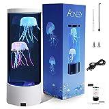 Lámpara de acuario de medusas Lámpara de medusas de fantasía que...