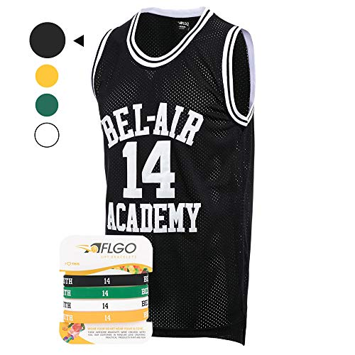 aflgo der Fresh Prince of Bel Air Academy Jersey enthalten in der Smith Set Armbänder S-XXL
