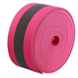 JINBING Reflective Elastic Band Tape Ribbons (Rose Red)