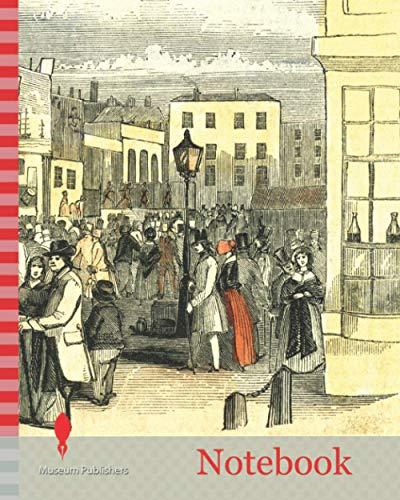 Notebook: Portsmouth Fair U.K. 1847 Free Mart Fair Fifteen Days Followed by Portsdown Fair the Open Hand of Portsmouth 9th of July