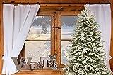 LB H&F Weihnachtsdeko Schriftzug Winter zum hinstellen Holz Natur Winterdeko Holzaufsteller (Winter) - 3