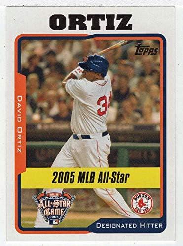 David Ortiz Baseball Card 2005 Topps Updates UH 177 NM MT product image