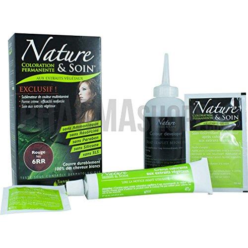 Santé Verte Nature et Soin Coloration Permanente - 6RR Rouge Feu