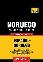 Vocabulario Español-Noruego - 9000 palabras más usadas (Norwegian Edition)