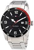 Tommy Hilfiger 1790916 - Reloj de Cuarzo para Hombre, Correa de Acero Inoxidable Color Plateado