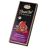 Bio-Himbeer-Granatapfel-Zartbitter-Schokolade (100 g) -